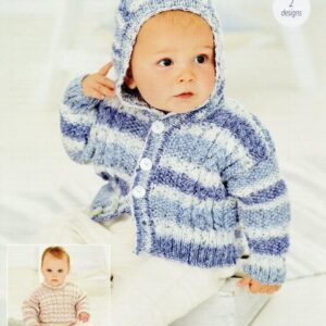 Stylecraft Bambino Prints DK baby yarn pattern 9749