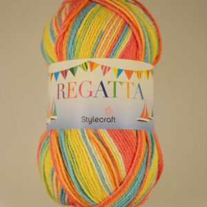 Stylecraft Regatta Colour-mix, Cotton-mix DK yarn