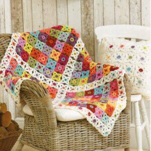 Life DK yarn crochet pattern 9090