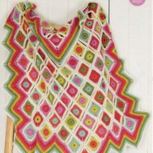 Life DK yarn crochet pattern 9256