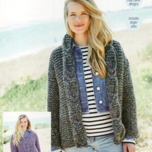 Stylecraft New Swift Knit super chunky yarn pattern 9721
