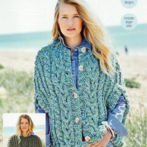 Stylecraft New Swift Knit super chunky yarn pattern 9722