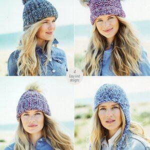 Stylecraft New Swift Knit super chunky yarn pattern 9724