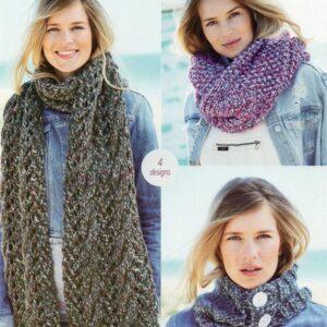 Stylecraft New Swift Knit super chunky yarn pattern 9725