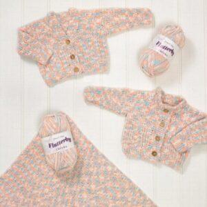 James C Brett chunky flutterby yarn pattern 581