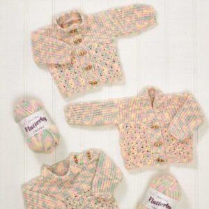 James C Brett chunky flutterby yarn pattern 582