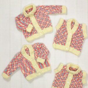 James C Brett chunky flutterby yarn pattern 583
