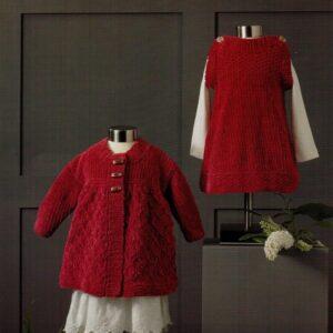 James C Brett chunky flutterby yarn pattern 650