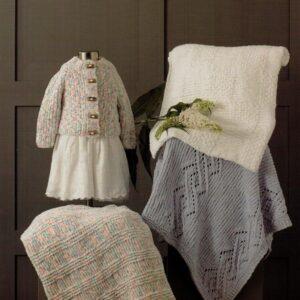 James C Brett chunky flutterby yarn pattern 651