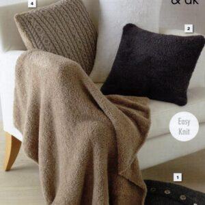 King Cole Truffle DK yarn pattern 5518