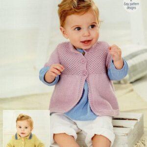 Stylecraft Bambino double knitting knitting pattern 9756Stylecraft Bambino double knitting knitting pattern 9756