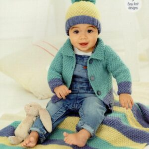 Stylecraft Bambino double knitting knitting pattern 9757