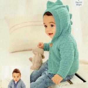 Stylecraft Bambino double knitting yarn knitting pattern 9758