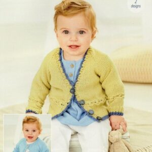 Stylecraft Bambino double knitting yarn knitting pattern 9759