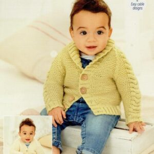 Stylecraft Bambino double knitting yarn knitting pattern 9760