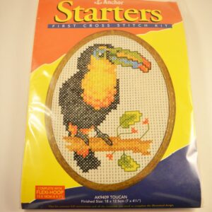 Anchor Starters First Cross Stitch Kit Toucan