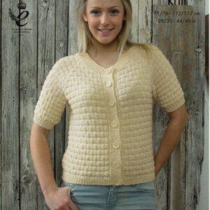 King Cole double knitting yarn knitting pattern 4124