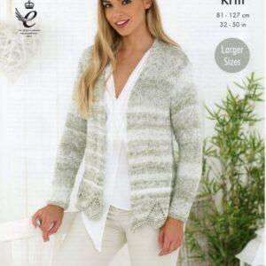 King Cole double knitting yarn knitting pattern 4766