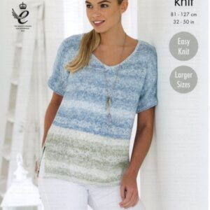 King Cole double knitting yarn knitting pattern 4767