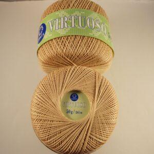 Coats Virtuoso Crochet Cotton 50 g, buff colour only