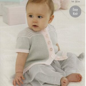 King Cole easy-knit 4-ply baby pattern 5440