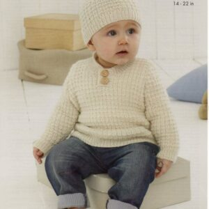 King Cole easy-knit 4-ply baby pattern 5441
